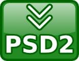 PSD2 Conversor de archivos PSD de Photoshop a un estandar libre.